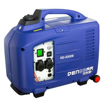eBLUE® E-START 3,3 kW Inverter Stromerzeuger, Generator benzinbetrieben