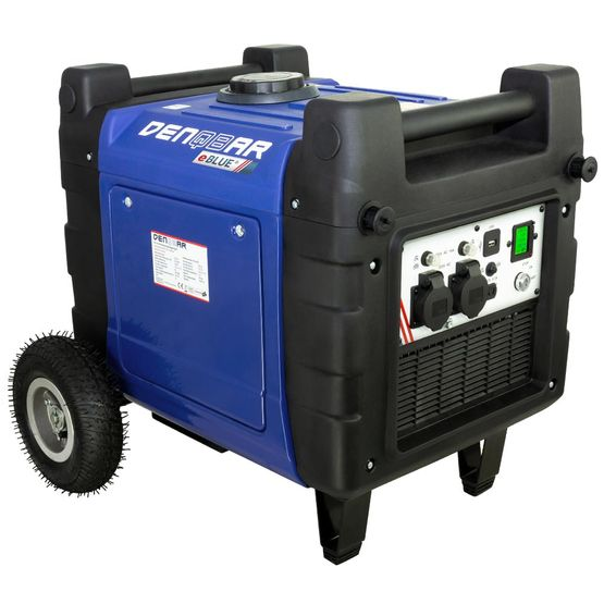 eBLUE® E-START 4,0 kW Digitaler Inverter Stromerzeuger, Generator benzinbetrieben