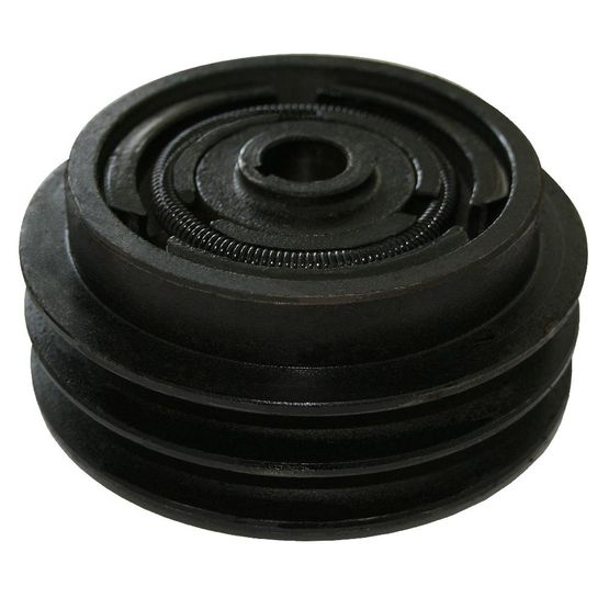 B/17 double v-belt clutch with 19.05 mm crankshaft diameter