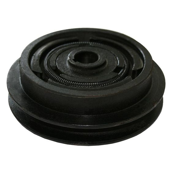 B/17 single v-belt clutch with 25 mm crankshaft diameter