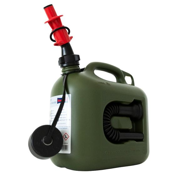 5 L Nourrices à carburant avec système de remplissage de sécurité pour carburant